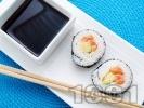 Рецепта Суши със сьомга и авокадо
